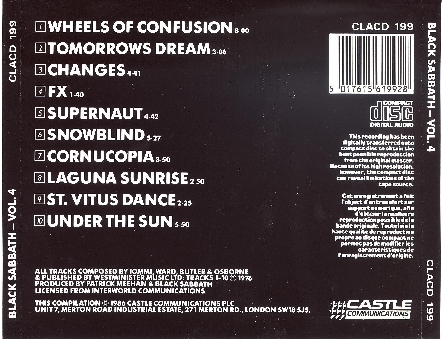 vol 4 cd albums