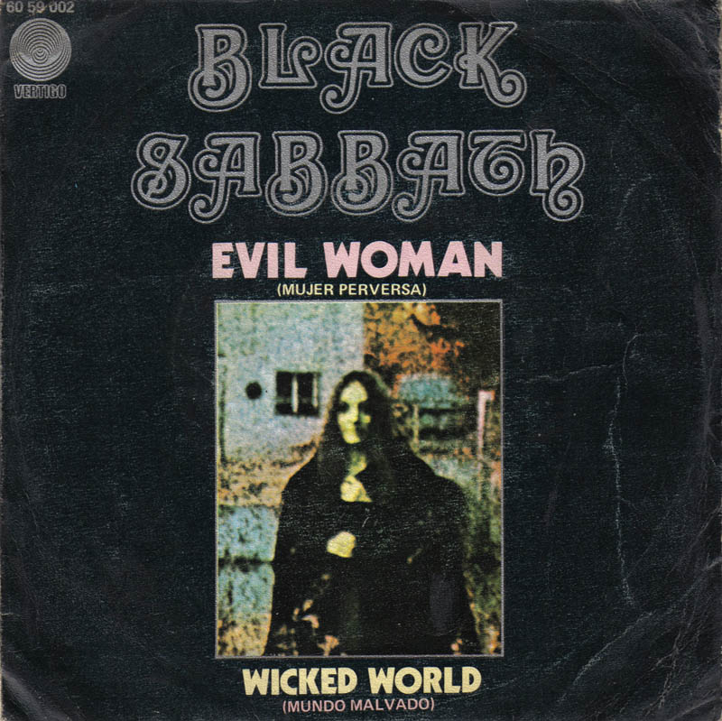 Black Sabbath Radio Spot For Black Sabbath Warner Bros Album WS 1871